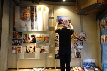「TOUCH」写真展開催中。その1